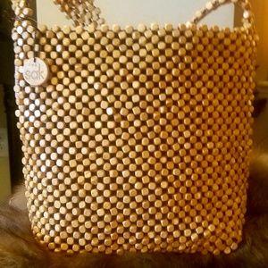 The Sak Natural Beaded Handbag